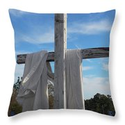 Behold, He Is Coming With The Clouds, Throw Pillow
