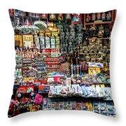 Beijing Souvenirs Throw Pillow