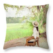 Being In Your Own Company Throw Pillow