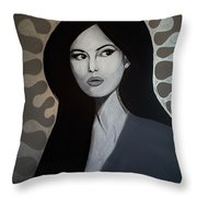 Bellucci Throw Pillow by MB Dallocchio