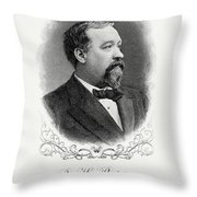 Benjamin Bristow Throw Pillow