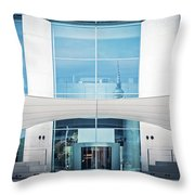 Berlin - Bundeskanzleramt Throw Pillow