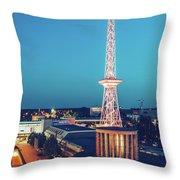 Berlin - Funkturm Throw Pillow