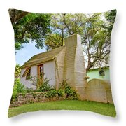 Bermuda Botanical Gardens Throw Pillow