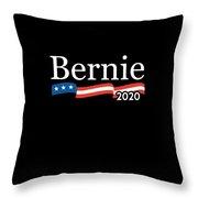 Bernie For President 2020 Throw Pillow