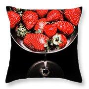 Berry Tonic Throw Pillow