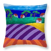 Best Of Two Worlds Throw Pillow
