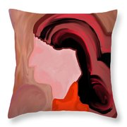 Bestowing Freedom Throw Pillow