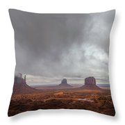 Between Squalls Throw Pillow