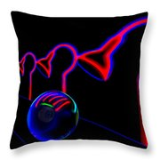 Beyond The Red Door Throw Pillow by Paul Wear