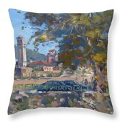 Bezistani Elbasan Throw Pillow