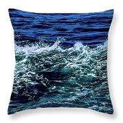 Big Surf Pano Throw Pillow