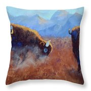 Big Thunder Throw Pillow