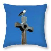 Bird Of Pray Throw Pillow