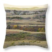 Black Butte September Reverie Throw Pillow