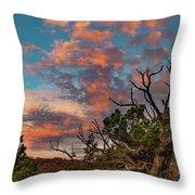 Black Canyon Sunrise Throw Pillow