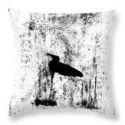 Black Ivory Actual 1b23z Throw Pillow