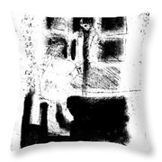 Black Ivory Actual 1b58z Throw Pillow