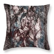 Black Ivory Issue 1b13 Throw Pillow