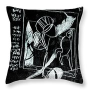 Black Ivory Issue 1b17a Throw Pillow