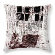 Black Ivory Issue 1b19 Throw Pillow