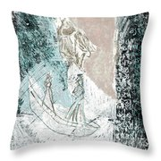 Black Ivory Issue 1b29a Throw Pillow