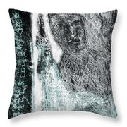 Black Ivory Issue 1b60a Throw Pillow