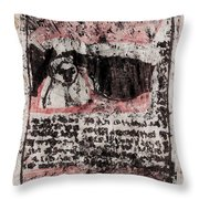 Black Ivory Issue 1b66 Throw Pillow