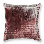 Black Ivory Issue 1b69 Throw Pillow