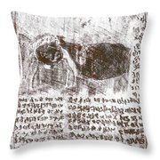 Black Ivory Issue 1b70c Throw Pillow