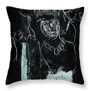 Black Ivory Issue 1b9a Throw Pillow
