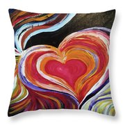 Black Love Is . . . Throw Pillow