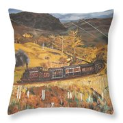 Black Mountain Throw Pillow