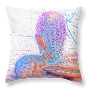 Black-tailed Jackrabbit Throw Pillow