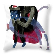 Blind Throw Pillow