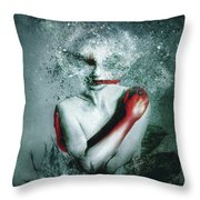 Blooming Protection Throw Pillow