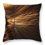 Blowing Throw Pillow by Michelle Wermuth