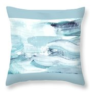 Blue #15 Throw Pillow