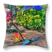 Bluejays Landing San Pedro Throw Pillow