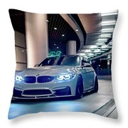 Bmw M3 Hd  Throw Pillow