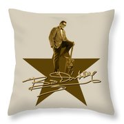 Bo Diddley - Signature Throw Pillow