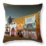 Boardwalk Empire Throw Pillow