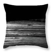 Boardwalk To The Unknown Throw Pillow by Doug Camara