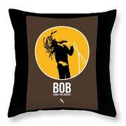 Bob Poster Throw Pillow