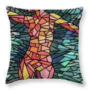 Body Of Thought #1 Throw Pillow