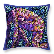 Body Of Thought #3 Throw Pillow