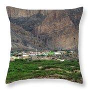 Boquillas Mexico Throw Pillow
