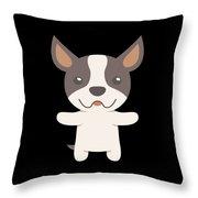 Boston Terrier Gift Idea Throw Pillow