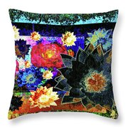 Bouquet Of Gratitude And Forgiveness Throw Pillow
