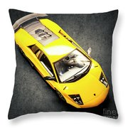 Boys Toys Throw Pillow